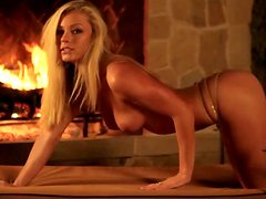 Nikki Leigh is showing the compilation of her videos