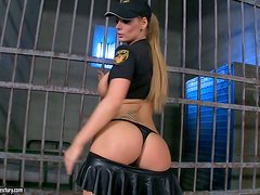 An Intense Solo Scene With Parole Officer Sheila Grant
