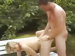 French Milf Outdoor