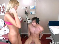 MILF Darcy Tyler is a lady doctor who finds her