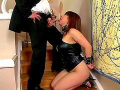 Crazy and hardcore action with an amazing Asian bitch Tigerr Benson and her fucker