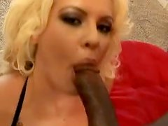 Curly Megan Monroe gets pounded in interracial video