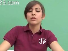 great oral loving with young student