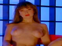 Brown-haired cutie Julie Clarke shows off her natural beauty