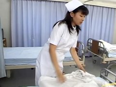 Hot Japanese Nurse Ryou Minamihoshi Fucked by The Doctor