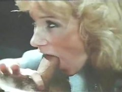 Retro blowjob and hairy pussy eating