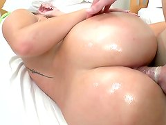 Busty Nikki Stone gets dick in her ass