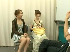 Sexy Ballerina from Japan Getting Fucked agaist the Mirror