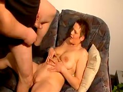 Little dick on chubby guy fucks cute girl