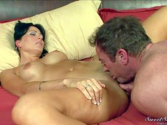 Zoey Holloway is a dark haired milf with incredibly sexy