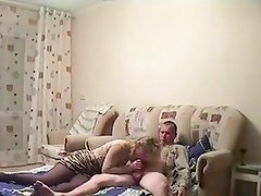 Amateur couple fucking at home