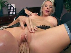 Emma Starr is riding on long dick of Johnny Sins