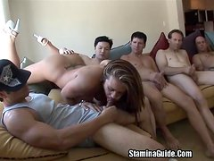 Group Blowjobs For Trina Michael And Got A Facial2