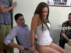 Students copulating in college room