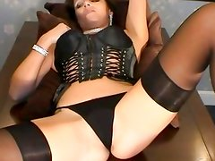 Laying back for a sweet orgasm
