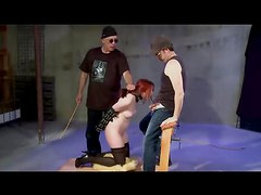 Threesome Spank Suck And Toy