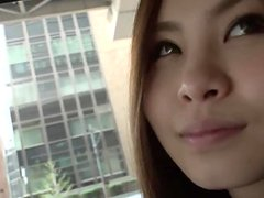Japanese finally gets to fuck her co-worker