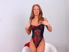 Julia Taylor and her slender body