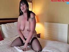 Dirty British Wife Cum Covered