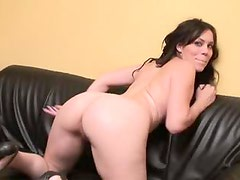 Big ass French slut fucked up the ass