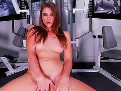 Shae Snow has slender and exciting