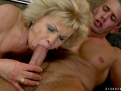 Effie gets her pussy toyed and fucked hard from behind