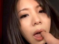 Fucking An Asian Beauty With Fishnet Stockings.