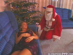 Sexy Rita Faltoyano getting fucked by Santa Claus