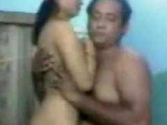 Filthy Indian honey gets on that huge cock and rides it