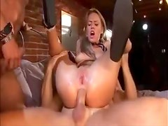 Holly Wellin in gaping hole DP