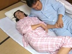 Horny Housewife Ayumi Takanashi gets laid after dinner