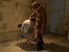 Interrogation Goes Haywire When She Sucks Cock And Pisses