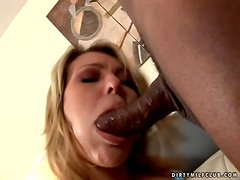 Joey Valentine blows and gets her tight pussy destroyed