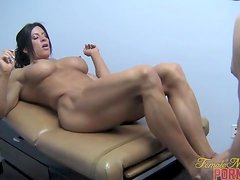 Angela Salvagno - Cock Workout 2 of 2