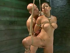 Brutal moth making love and intense sexual training sum up Adrianna's opening day of training.