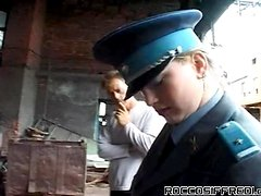 Gang Of Guys Gape A Cop Chick Like Crazy