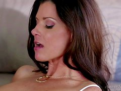 Xander Corvus was following his flamboyant mature neighbour India Summer