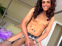 Wanna relax with horny tranny Then