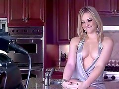 Backstage with an amazing babe with big tits and tasty ass named Alexis Texas