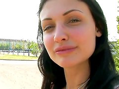 Sex princess Aletta Ocean learns how to drive any dick but today she learns how to drive a car