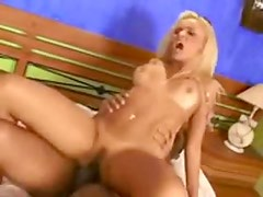 Brazilian likes that black dick in the ass