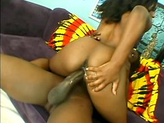 Chocha - Salty black babe Ms Platinum gets her tiny pussy ripped