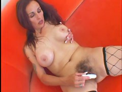 Hairy mature pussy fucked in her cunt