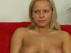 Youthful and innocent pretty loves to please pair ram rods