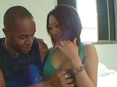 Hardcore Interracial Sex With Asian MILF and a Black Cock