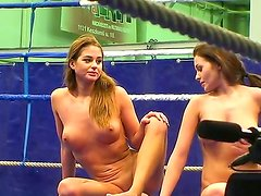 Hot teens Nelly Sullivan and Cathy