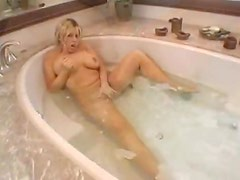 Bathroom fucking with a wet busty babe