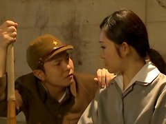 Pipí vestido - Interrogation Makes an Asian Girl Suck Cock and Pee On Herself