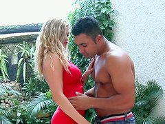 Knock out Brazilian babe Camila Torres films in an awesome sex video