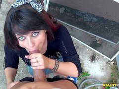 Oxaunna Envy is a naive slutty brunette gets tricked into